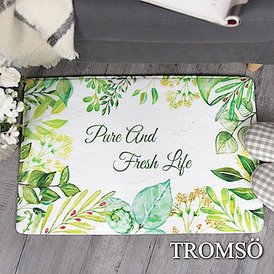 TROMSO 簡單生活超柔軟地墊-M73春開滿葉