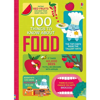 100 Things To Know About Food 食物的100個知識書