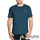 【VAUDE德國】男款吸濕排汗透氣輕量快乾短袖T恤VA-40957海藍 product thumbnail 1