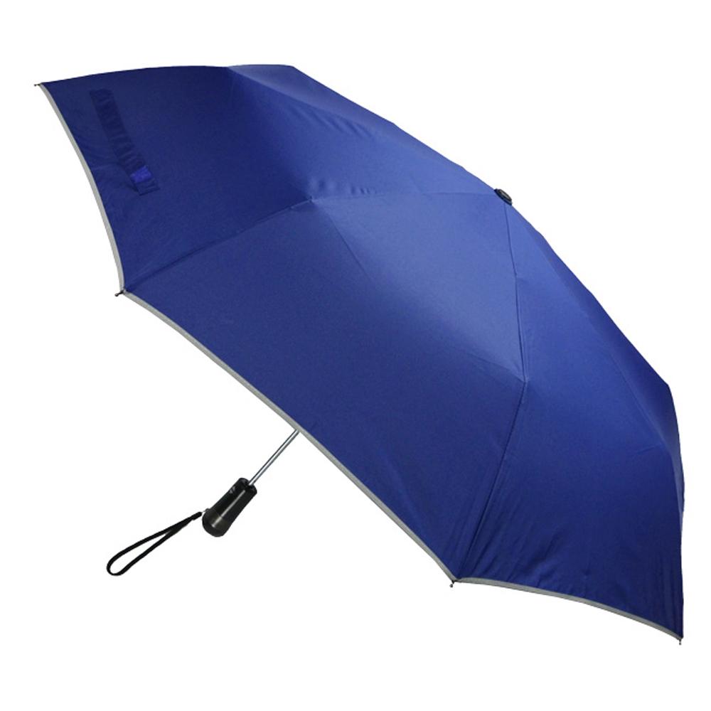 2mm LED極光安心自動開收傘 (寶藍色)