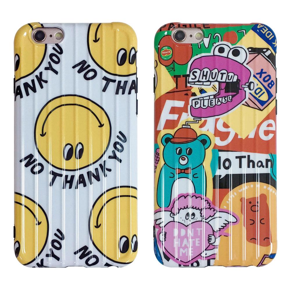 【TOYSELECT】iPhone 7/8 Plus 超級萌童趣旅行箱手機殼