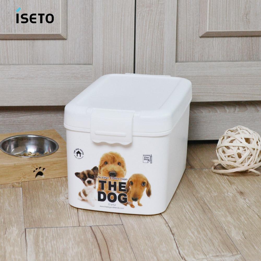 【nicegoods】日本ISETO 寵物飼料零食密封收納桶-7L