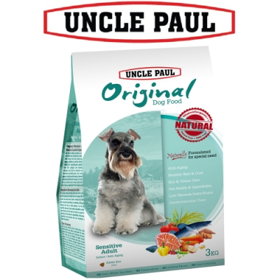 UNCLE PAUL 保羅叔叔田園生機狗食 3kg 低敏成犬