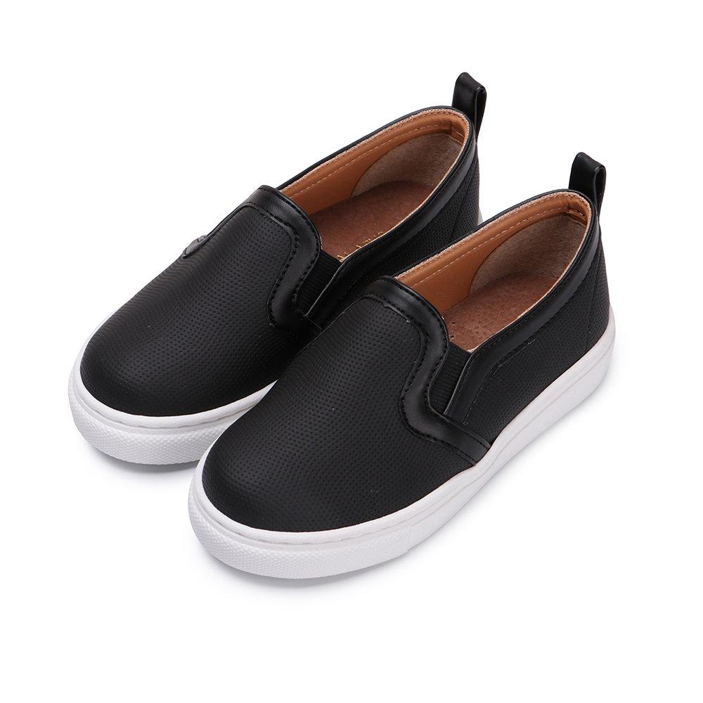 BuyGlasses 率性奔馳童款短靴-黑