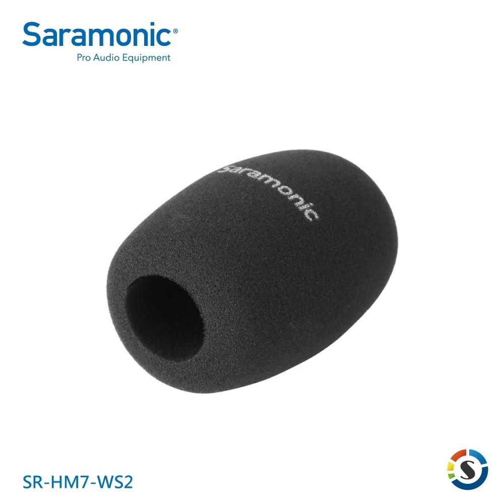 Saramonic楓笛 SR-HM7-WS2 手持麥克風防風綿套