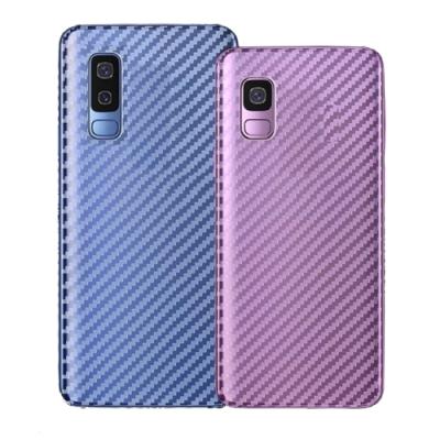 御殼坊 For:三星 Galaxy A71 背面保護貼抗刮(碳纖紋背貼)超值2片入