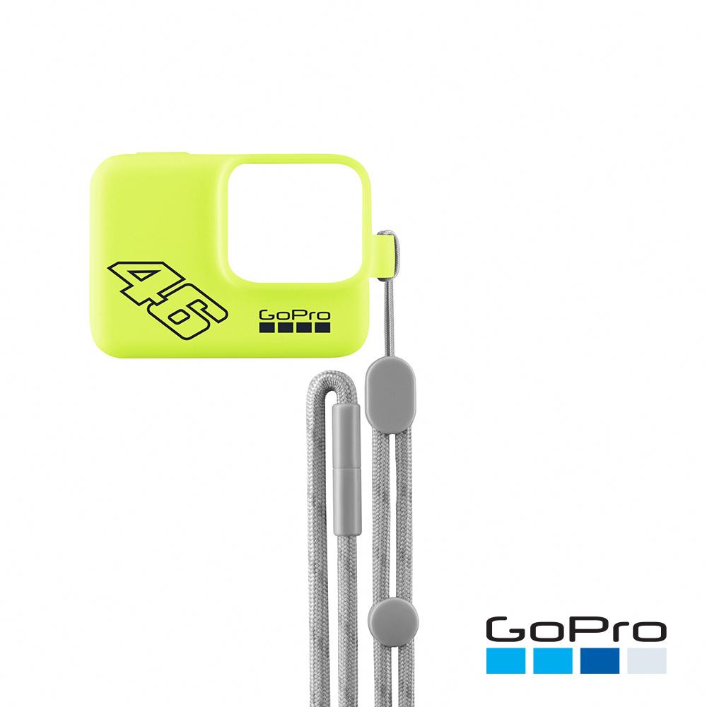 GoPro-專用矽膠護套+繫繩 黃色(ACSST-006)