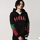 聯名款內刷毛套頭連帽TEE(5色) ZIP日本男裝