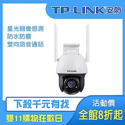 【TP-Link】300萬星光室外無線球機 TL-IPC633-D(平輸)