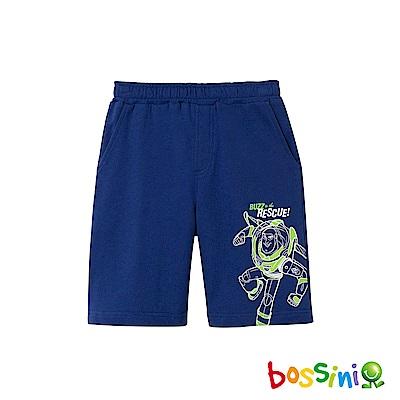 bossini男童-玩具總動員印花短褲淺綠松