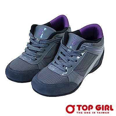【TOPGIRL】甜甜美眉增高美跡鞋-酷深灰