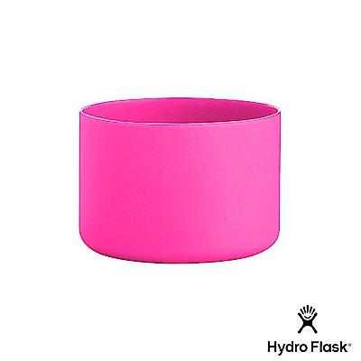 美國Hydro Flask 彈性矽膠防滑瓶套 火鶴粉