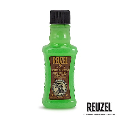 REUZEL Scrub Shampoo脫油去角質保濕髮浴100ml