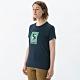 MILLET 女 HUGO TREE&CLOUD 排汗短袖T恤 海軍藍-MIV017880194 product thumbnail 1