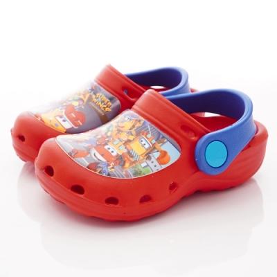 SUPER WINGS 超輕量護趾涼鞋款 NI3904紅(中小童段)