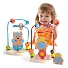經典木玩 小幼童繞珠玩具(幼兒繞珠玩具)18m+