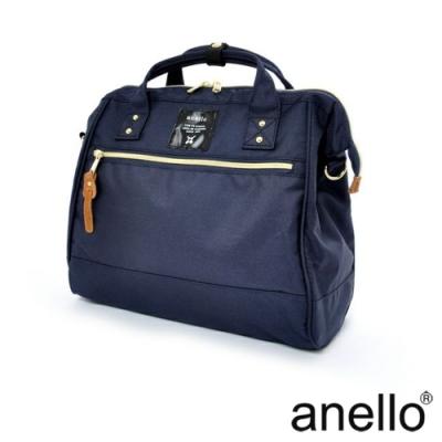 anello 輕便型波士頓 兩用手提斜背包 深藍  L