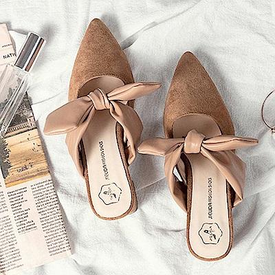 KEITH-WILL時尚鞋館 獨家款搶眼奢華小金粗跟鞋-棕色