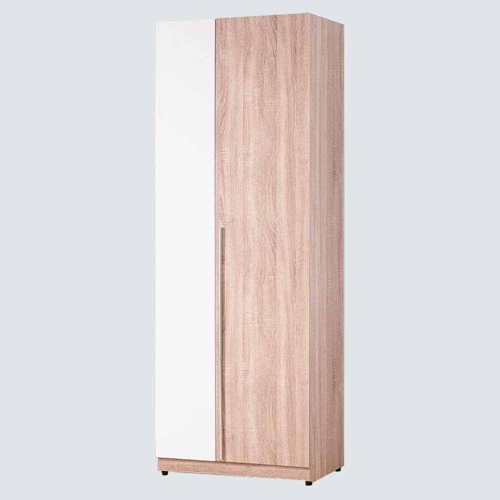 AS-凱西2.5尺雙吊衣櫥-76x56x197cm