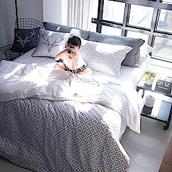 OLIVIA Oliver 標準雙人薄床包薄被套四件組 300織萊賽爾TENCEL 台灣製
