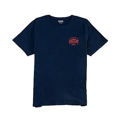 Timberland 男款黑色 LOGO T恤|A1NHH
