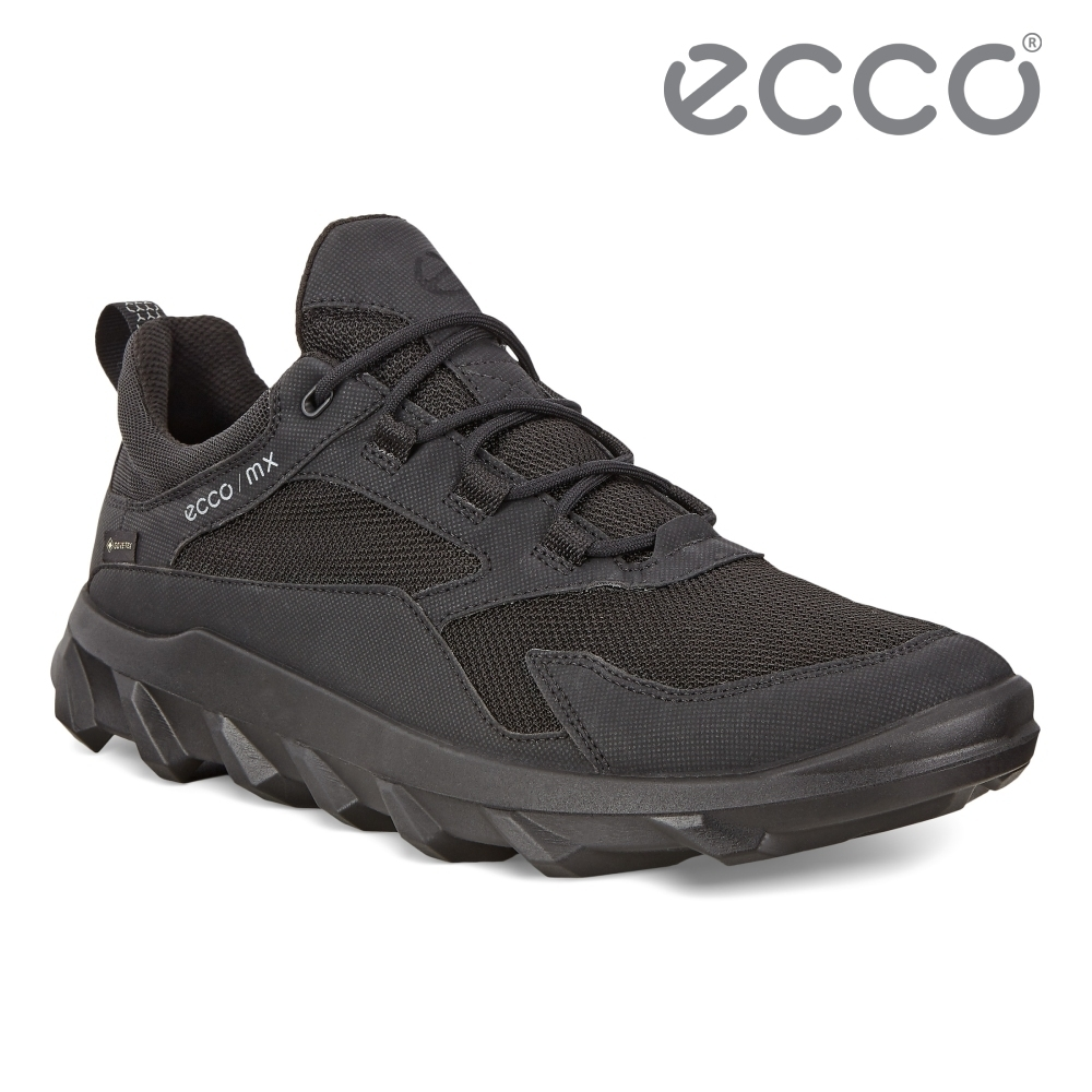 ECCO MX M 驅動戶外防水運動休閒鞋 男鞋 黑色