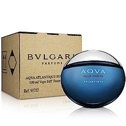 Bvlgari寶格麗 勁藍水能量男性淡香水-Tester(100ml)