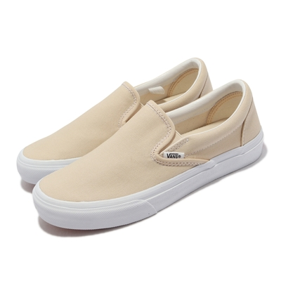 Vans 休閒鞋 V98CF Bloom Slip On 男女鞋 懶人鞋 無鞋帶 好穿脫 情侶鞋 淺褐 白 6117920003