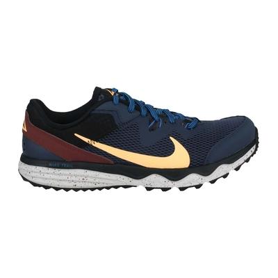 NIKE JUNIPER TRAIL 男慢跑鞋-越野 運動 路跑 CW3808401 丈青淺黃棕