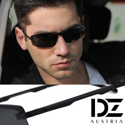 DZ 飛行流線 防曬偏光 太陽眼鏡墨鏡(黑框灰片)