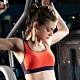 華歌爾 獨家專利 DM-D3L罩杯雙W運動內衣(能量橘) 雙W專利 穩型結構 product thumbnail 2