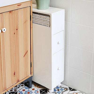 澄境 簡約多功能收納縫隙櫃(50x15.8x65.7cm)-DIY