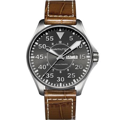 Hamilton Khaki 航空飛行自動機械錶(H64715885)