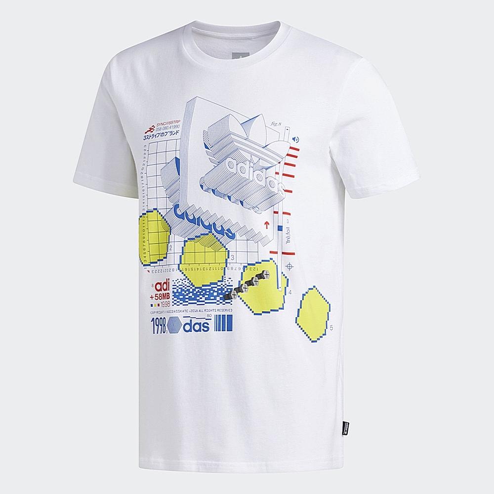 adidas VETTER 短袖上衣 男 DU8389