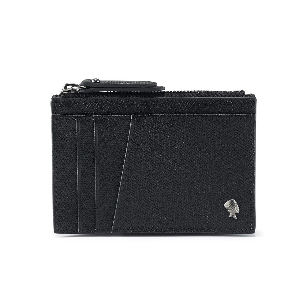 PORTER - 個性主宰LOGIC鏤空卡夾/零錢包 - 黑