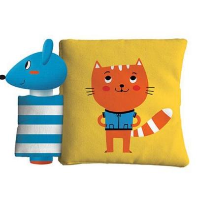 Cat And Mouse 小貓與老鼠趣味布書