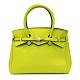 SAVE MY BAG 義大利品牌 MISS PLUS升級版 黃綠色超輕量拉鍊手提托特包 product thumbnail 1