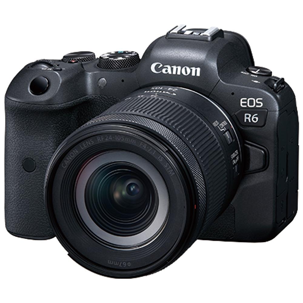 Canon EOS R6 + RF 24-105mm F4-7.1 IS STM 變焦鏡組(公司貨)