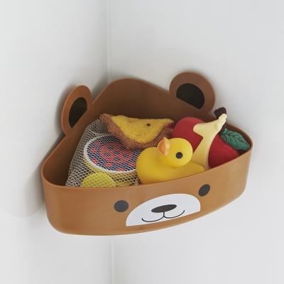 【YAMAZAKI】KIDS玩具小物收納籃-熊★收納盒/居家收納/玩具收納