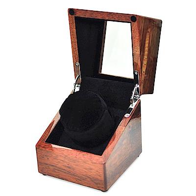 WISH 機械腕錶自動上鍊盒‧1只裝 沙比利實木(黑) -快速到貨