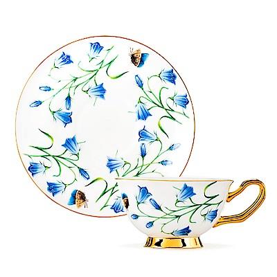 Royal Duke 骨瓷咖啡對杯-藍桔梗
