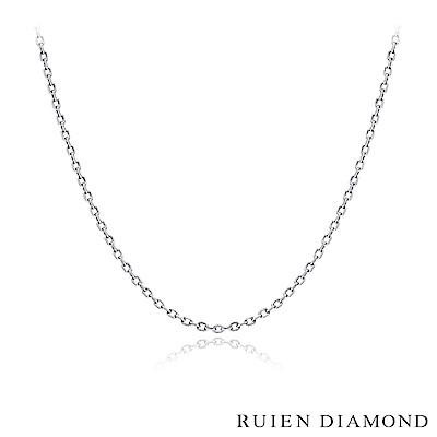 RUIEN DIAMOND  16 吋 義大利 14 K白金 跳舞項鍊