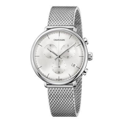 Calvin Klein CK 巔峰系列米蘭帶計時腕錶(K8M27126)43mm
