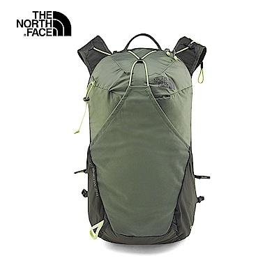 The North Face北面女款軍綠色舒適專業登山後背包|3GA33NL