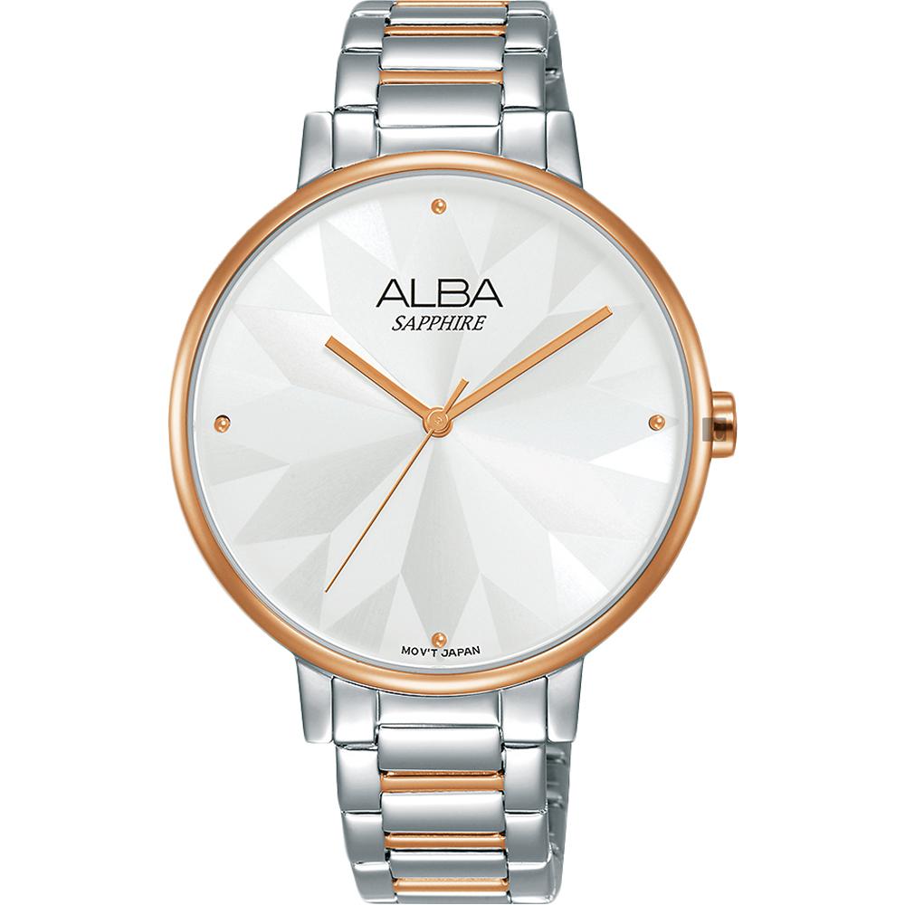 ALBA雅柏 Fashion 幾何造型女錶(AVH8571X1)-36mm