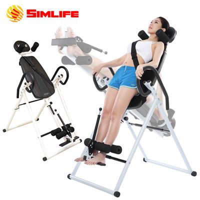 【SimLife】頂級防護人體工學倒立循環機(閃耀黑)