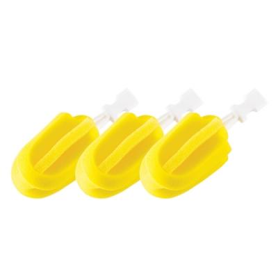 【mammyshop媽咪小站】旋轉海綿奶瓶刷(替換包3入)