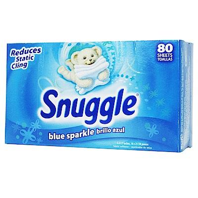 美國 Snuggle 衣物烘衣柔軟片(80張)
