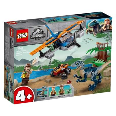 樂高LEGO 侏儸紀世界系列 - LT75942 Velociraptor: Biplane Rescue Mission