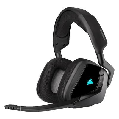 CORSAIR 海盜船 VOID RGB ELITE Wireless耳麥/黑/無線/USB/CA-9011201-AP